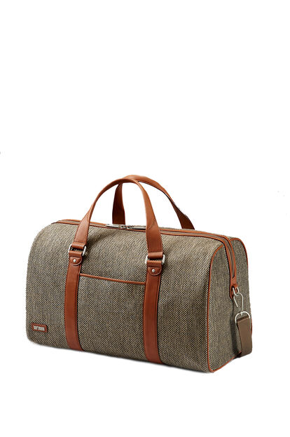 Tweed Belting Business Duffle táska S