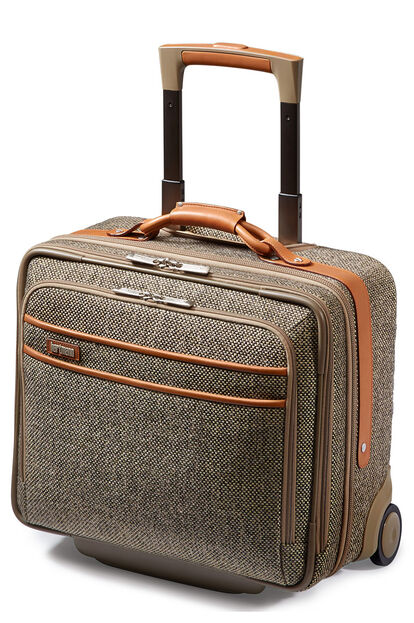 Tweed Belting Business Gurulós laptop táska