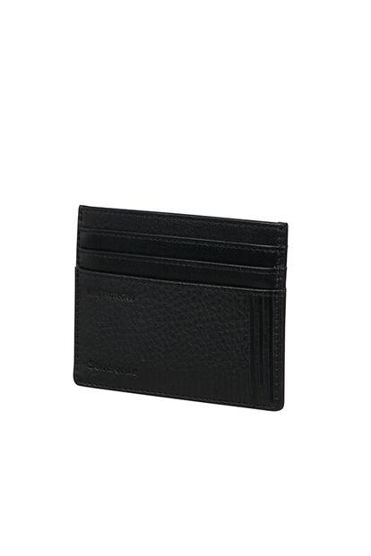 Double Leather Slg Hitelkártyatartó
