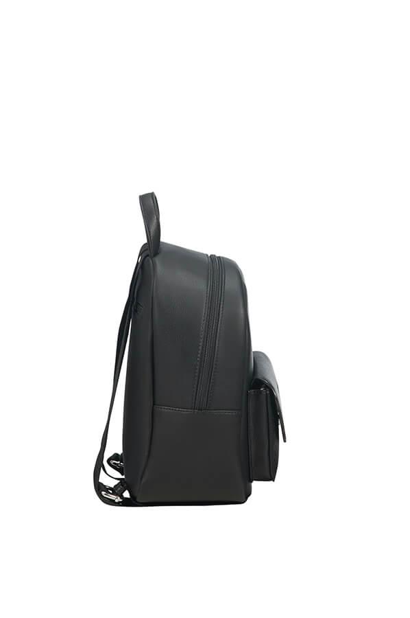 3588bc364227 American Tourister Luna Pop Hátizsák Black/Silver | Rolling Luggage